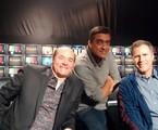 Tom Leão entrevista David Koechner e Will Ferrel | Divulgação
