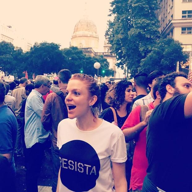 Maria Eduarda de Carvalho no Rio de Janeiro (Foto: Reprodução/Instagram)
