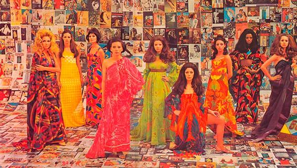 Peças de estilistas brasileiros das décadas de 60 e 70 (Foto: Fifi Tong/Divulgação)