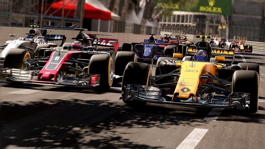 Confira imagens ingame de F1 2017 (Foto: Divulgação/Codemasters)