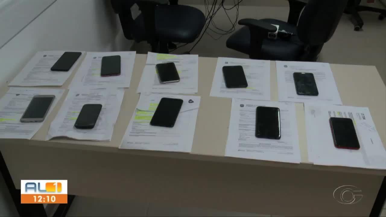 Operação policial recupera cerca de 40 celulares que foram roubados em Pilar