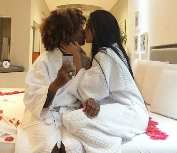 Pepê e a mulher, Thalyta Santos (Foto: Reprodução/Instagram)