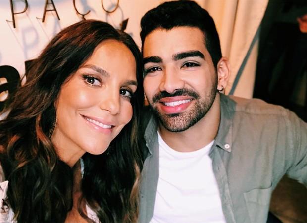 Ivete Sangalo e Dilsinho (Foto: Reprodução/Instagram)