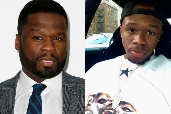 50 Cent e  seu filho Marquise Jackson (Foto: Reprodução Instagram/Getty Images)