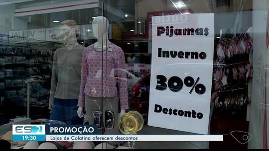 Lojas oferecem descontos em produtos de inverno, no ES