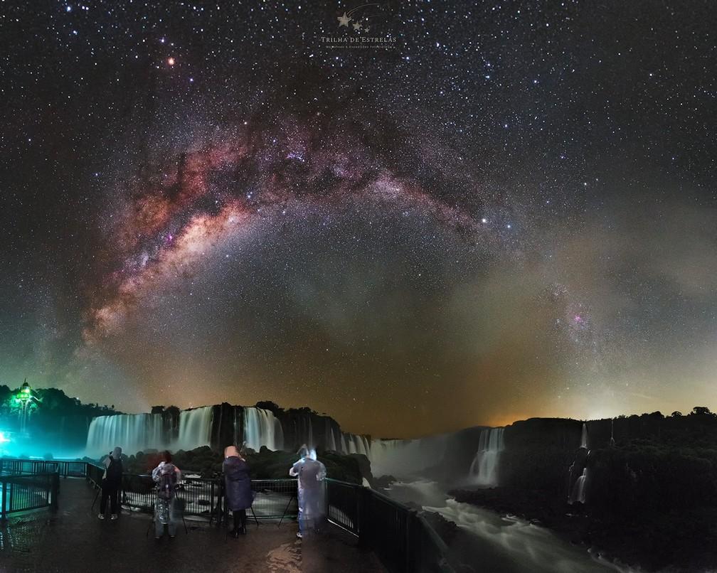 Registros foram feitos em expedição fotográfica, em Foz  — Foto: Victor Lima/Divulgação
