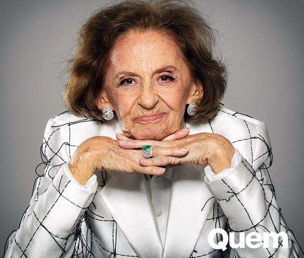 Laura Cardoso (Foto: Angelo Pastorello/ Ed. Globo)