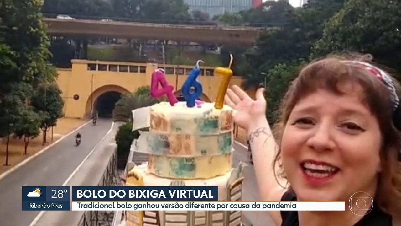 Bolo do Bixiga ganha versão virtual por causa da pandemia