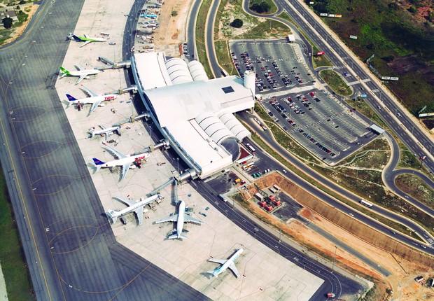 Aeroporto de Fortaleza (CE) (Foto: Divulgação/Flikr/Infraero)