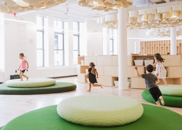 Escola em Nova York encanta pela decoração lúdica  (Foto: Reprodução)