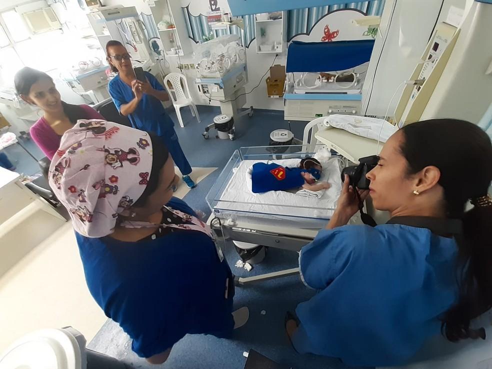 Exposição será aberta em 1º de novembro — Foto: Divulgação/Hospital Geral Roberto Santos