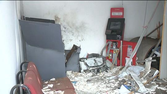 Grupo explode caixa eletrônico no distrito de Cajá, PB, e provoca pânico na BR-230