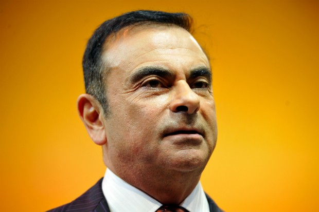 A ascensão e queda do brasileiro Carlos Ghosn, na foto como CEO da Renault, em 2013 (Foto: Getty Images / Harrold Cunningham)