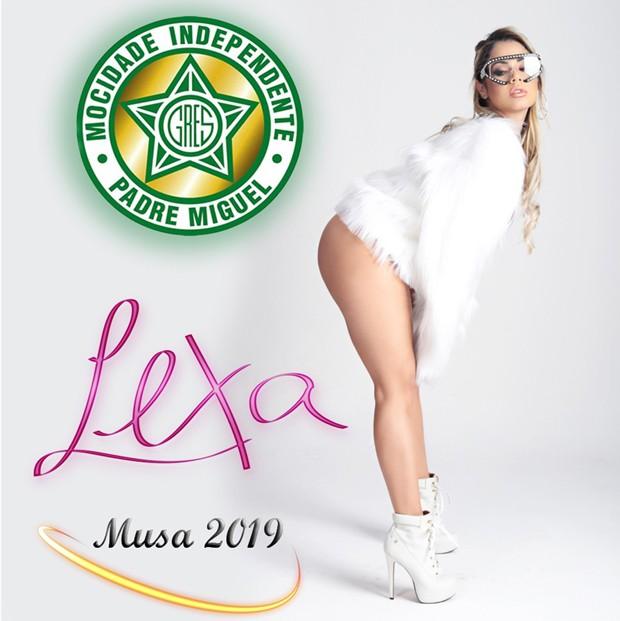 Lexa será musa da Mocidade Independente de Padre Miguel (Foto: Divulgação)