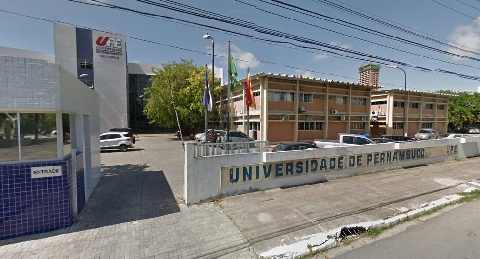 Universidade de Pernambuco no Recife oferece 1.740 vagas no Sisu — Foto: Reprodução/Google Street View