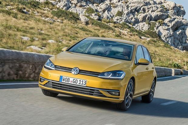 Volkswagen Golf é reestilizado na Europa (Foto: Divulgação)