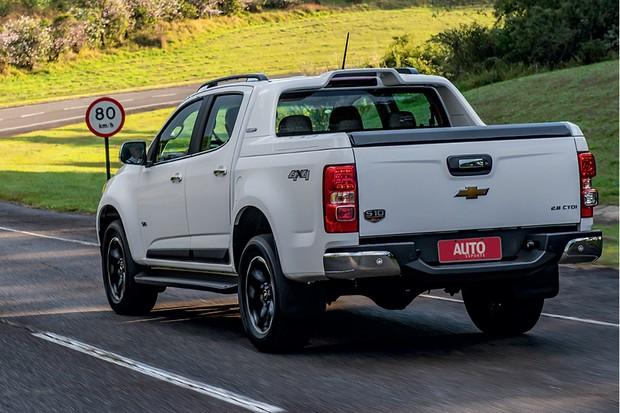 Chevrolet S10 High Country -  Mais segurança A nova S10 recebeu reforços estruturais na carroceria (Foto: Divulgação)
