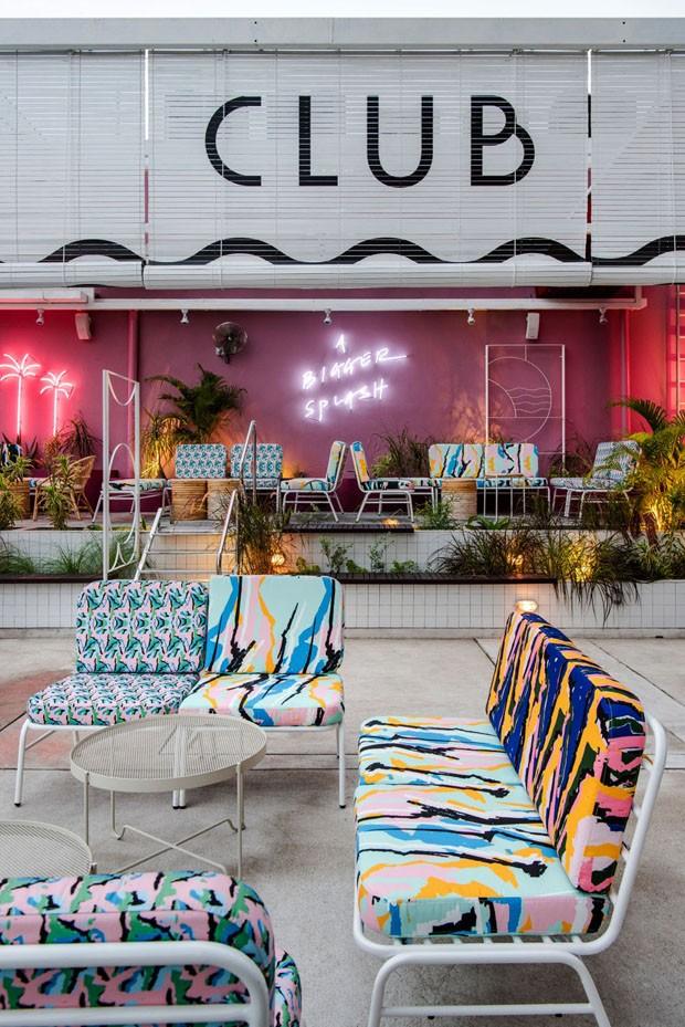 4 ideias de decoração que amamos neste clube inspirado nas artes