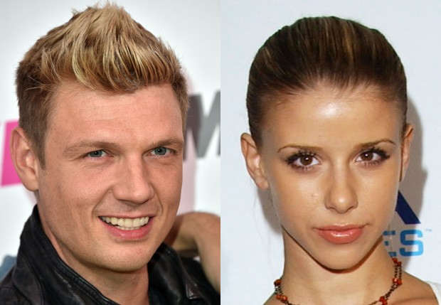 Nick Carter e Melissa Schuman (Foto: Getty Images)