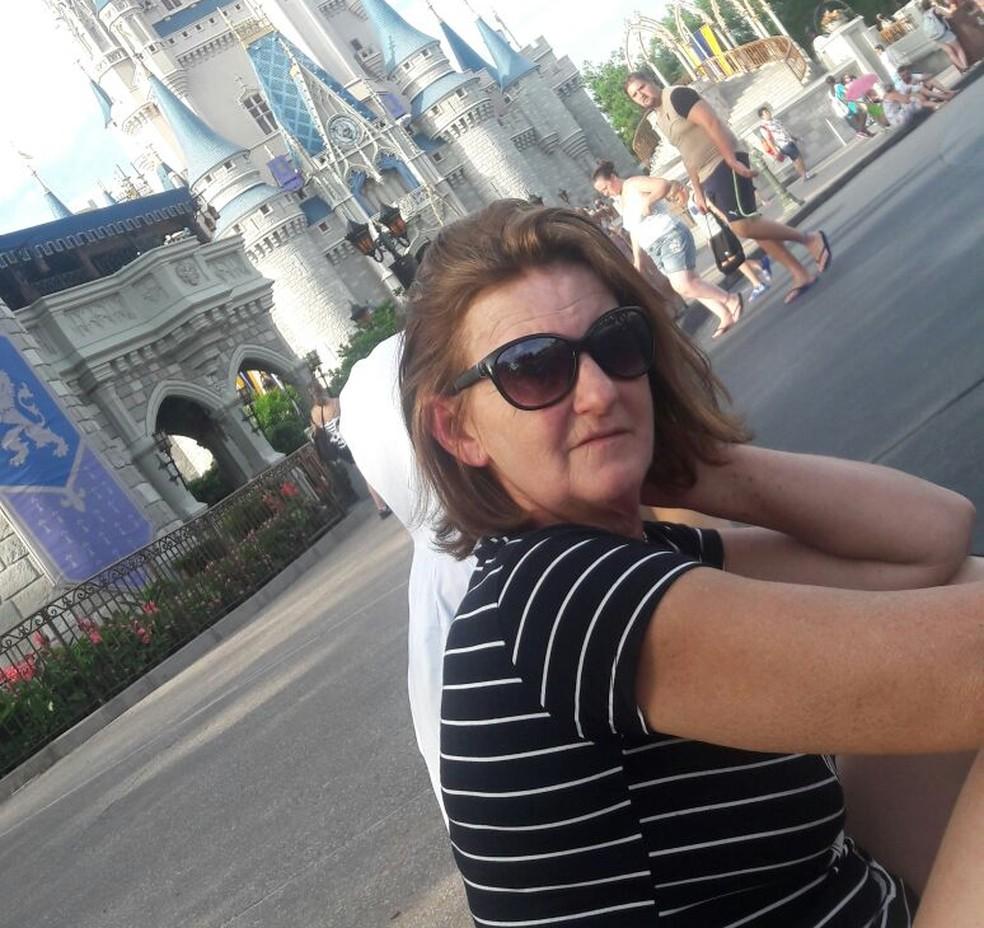 Doméstica de Sorocaba conta que foi para a Disney após guardar dinheiro por três anos — Foto: Arquivo Pessoal