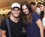 Bruno Gissoni e Daniela Escobar na peça 'Romeu na roda'   Divulgação