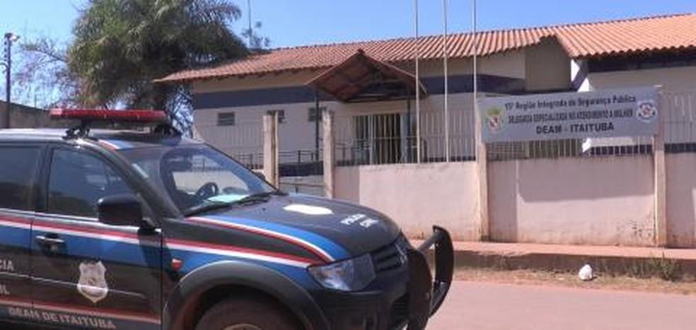 -  O homem foi encaminhado para seccional de Itaituba  Foto: Reprodução/Policia Civil do Pará