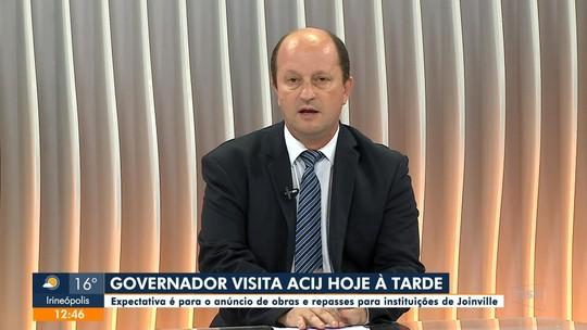 Jefferson Saavedra: governador visita Joinville nesta sexta (14)