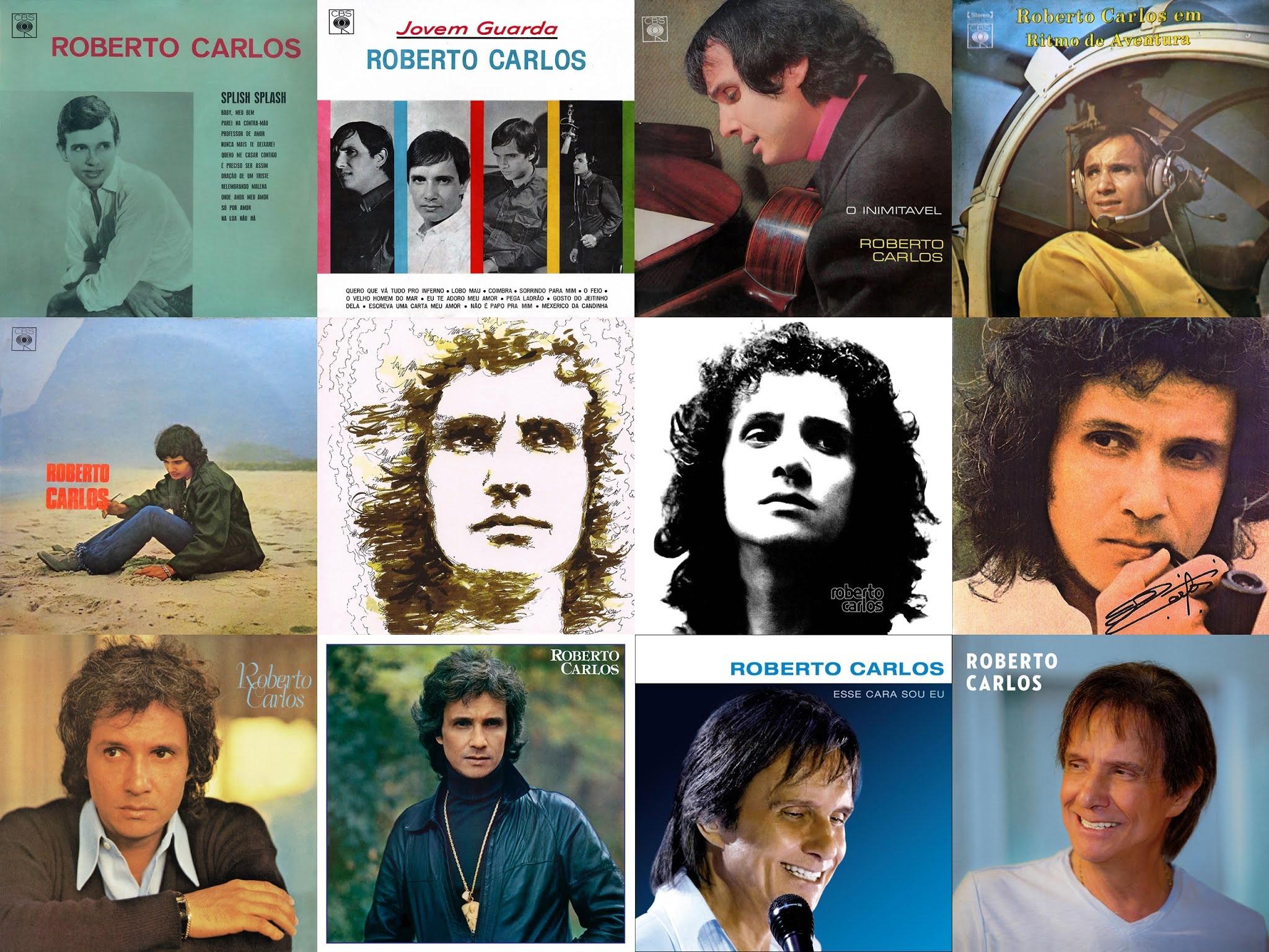 Eis 80 canções de Roberto Carlos que não adianta nem tentar esquecer...