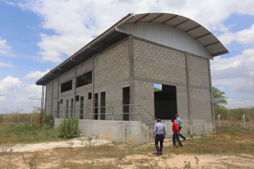 Abatedouro em Irará deve ficar pronto no final de 2019 — Foto: Coopril/Divulgação