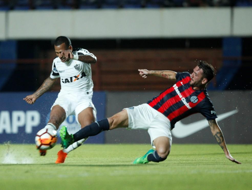 San Lorenzo venceu o jogo de ida contra o Galo por 1 a 0 (Foto:  REUTERS/Martin Acosta)