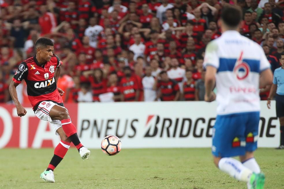 Márcio Araújo foi quem mais roubou bolas no Flamengo: três (Foto: Gilvan de Souza / Flamengo)