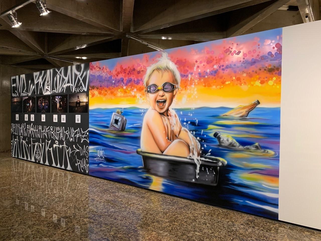 Exposição Portos apresenta obras de 61 artistas da Baixada Santista no Sesc Santos