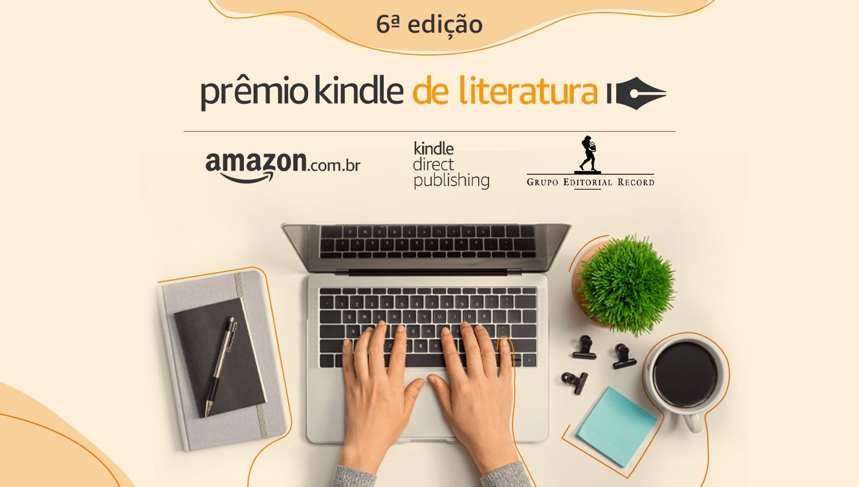 premio kindle 2 - A Amazon e o Grupo Editorial Record convidam: vem aí a 6ª edição do Prêmio Kindle de Literatura