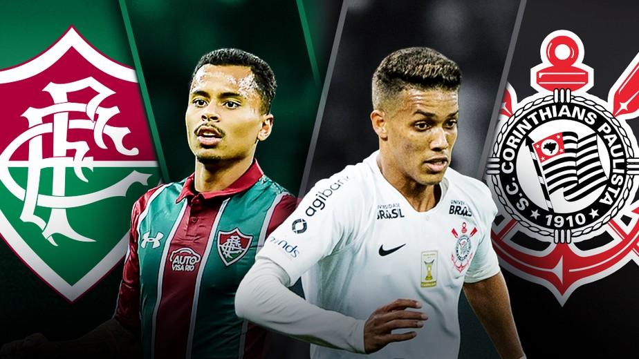 Resultado de imagem para Fluminense x Corinthians