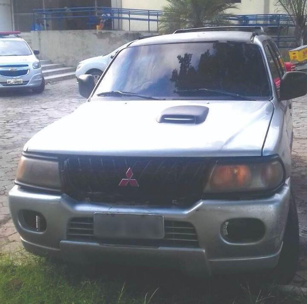 Veículo blindado foi apreendido pelo Bepi em Palmares (Foto: Divulgação/Bepi)