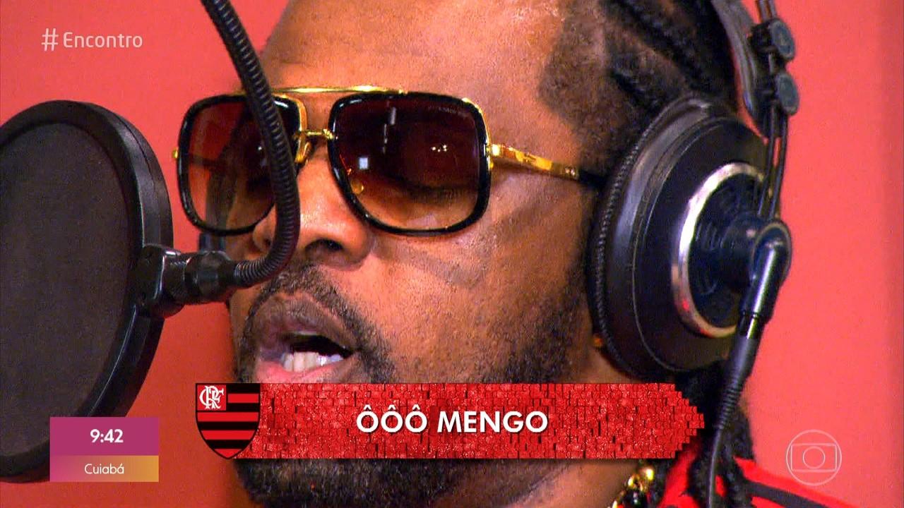 Xande de Pilares criou palavra para definir paixão pelo Flamengo