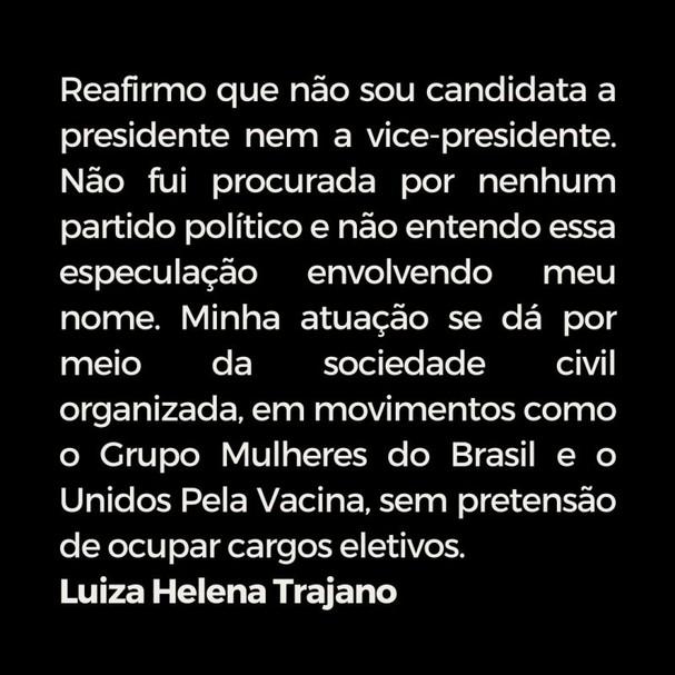 Luiza Trajano (Foto: Linkedin)