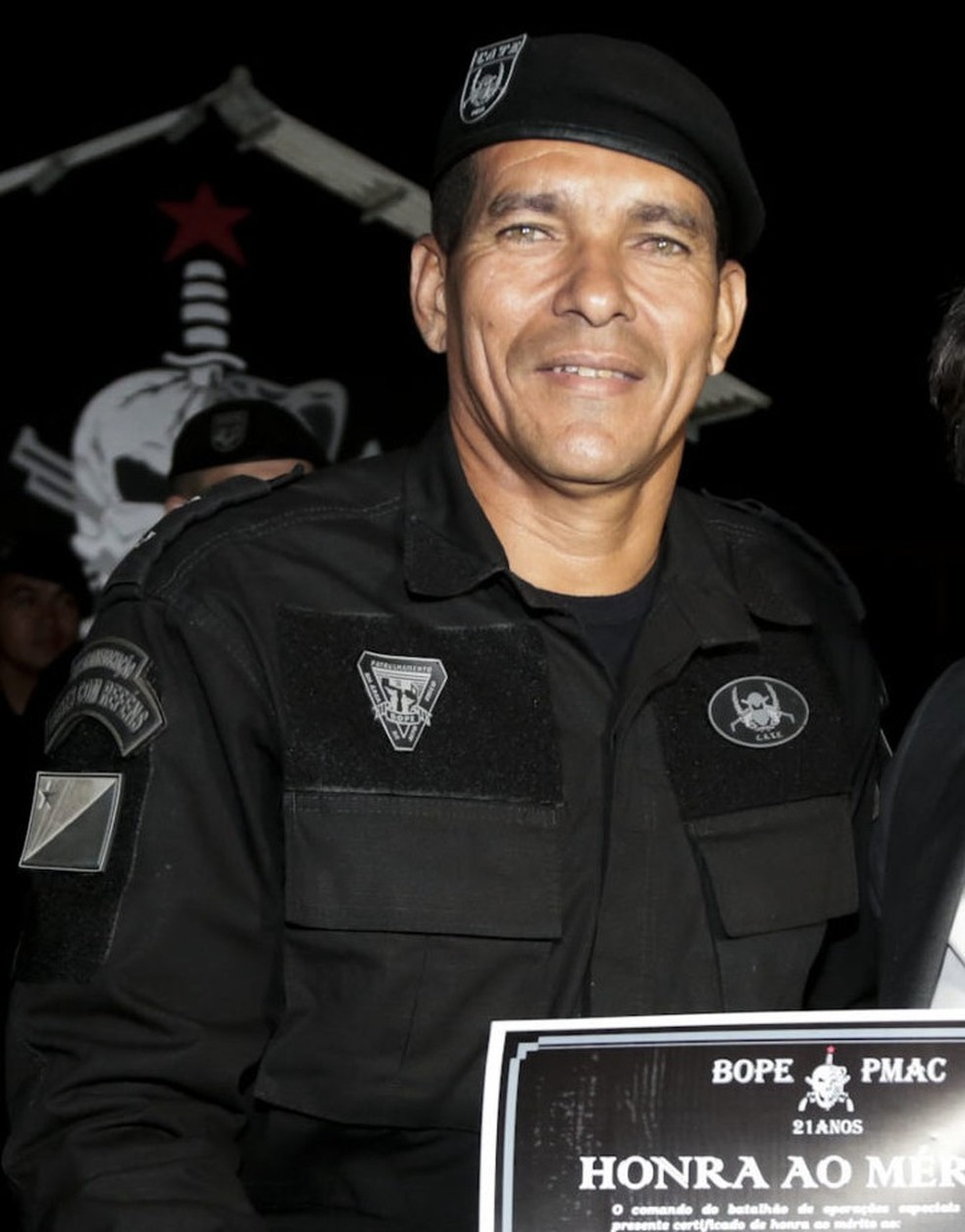 Tenente do Bope dava droga a membros de facção e recebia dinheiro de criminosas, diz MP-AC — Foto: Reprodução