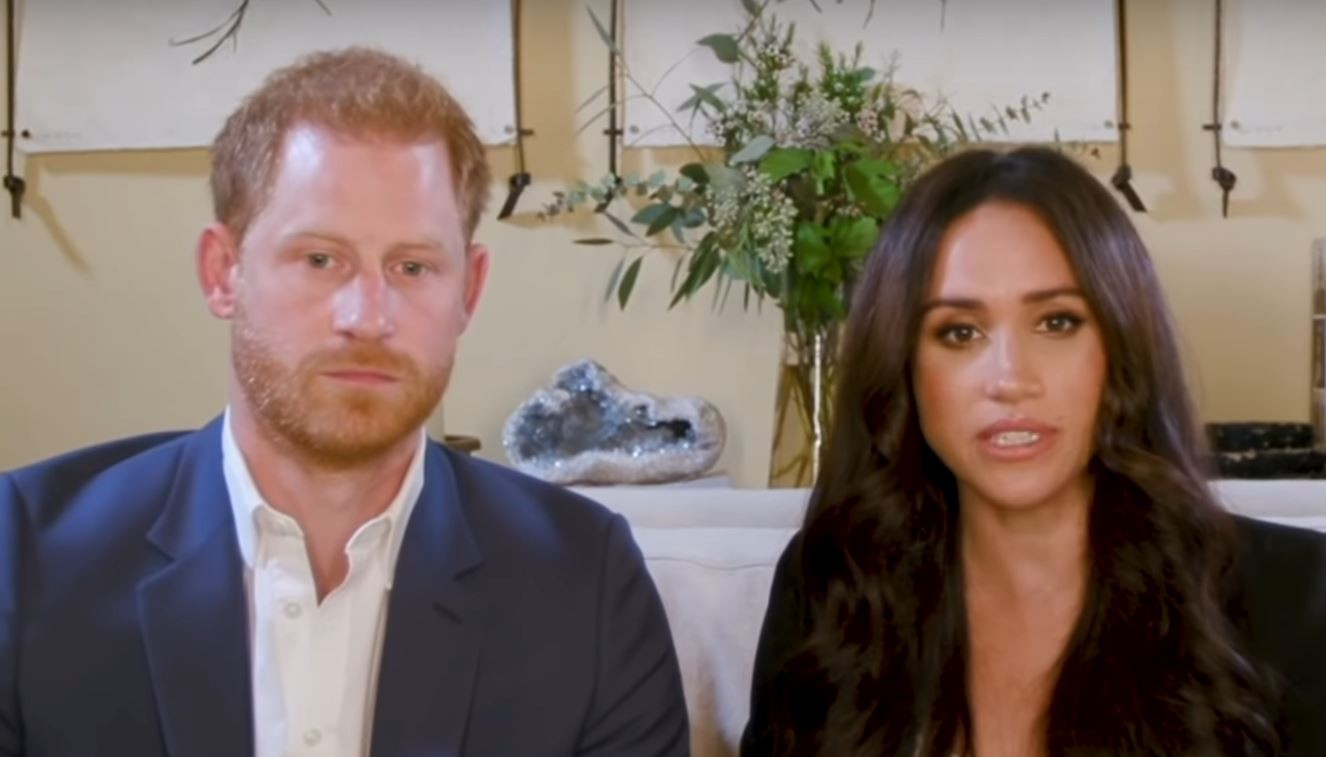 Príncipe Harry e Meghan Markle no Time100 Talks (Foto: YouTube)