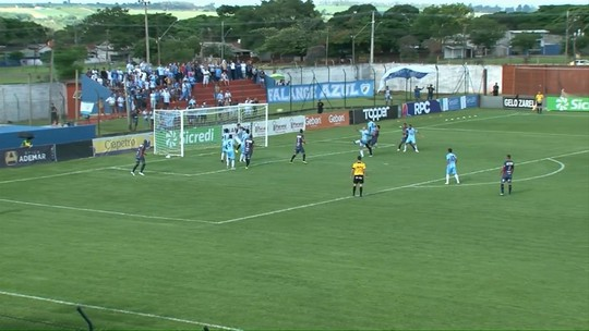 Alan tem boa atuação e salva o Londrina no empate com o Cianorte