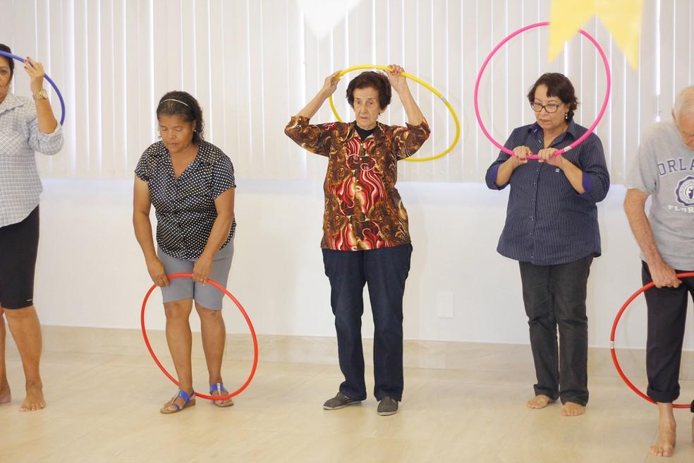 Beneficiários do plano Medsênior participam de oficinas (Foto: Divulgação/Herlon Ribeiro)