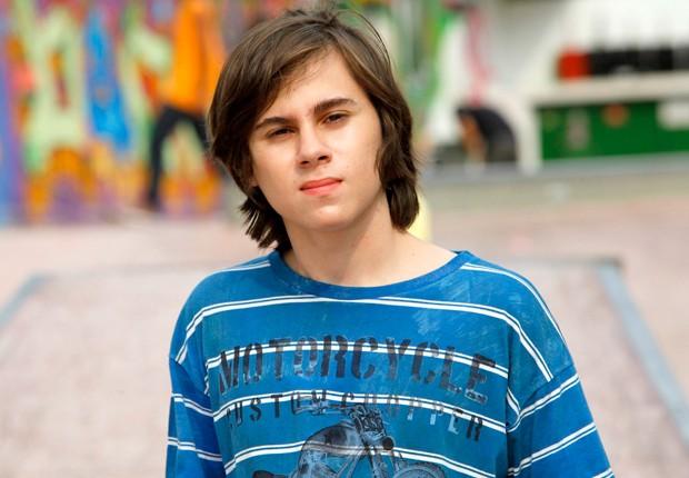 Rafael Miguel caracterizado como Paçoca, seu papel em Chiquititas (Foto: Divulgação/SBT)