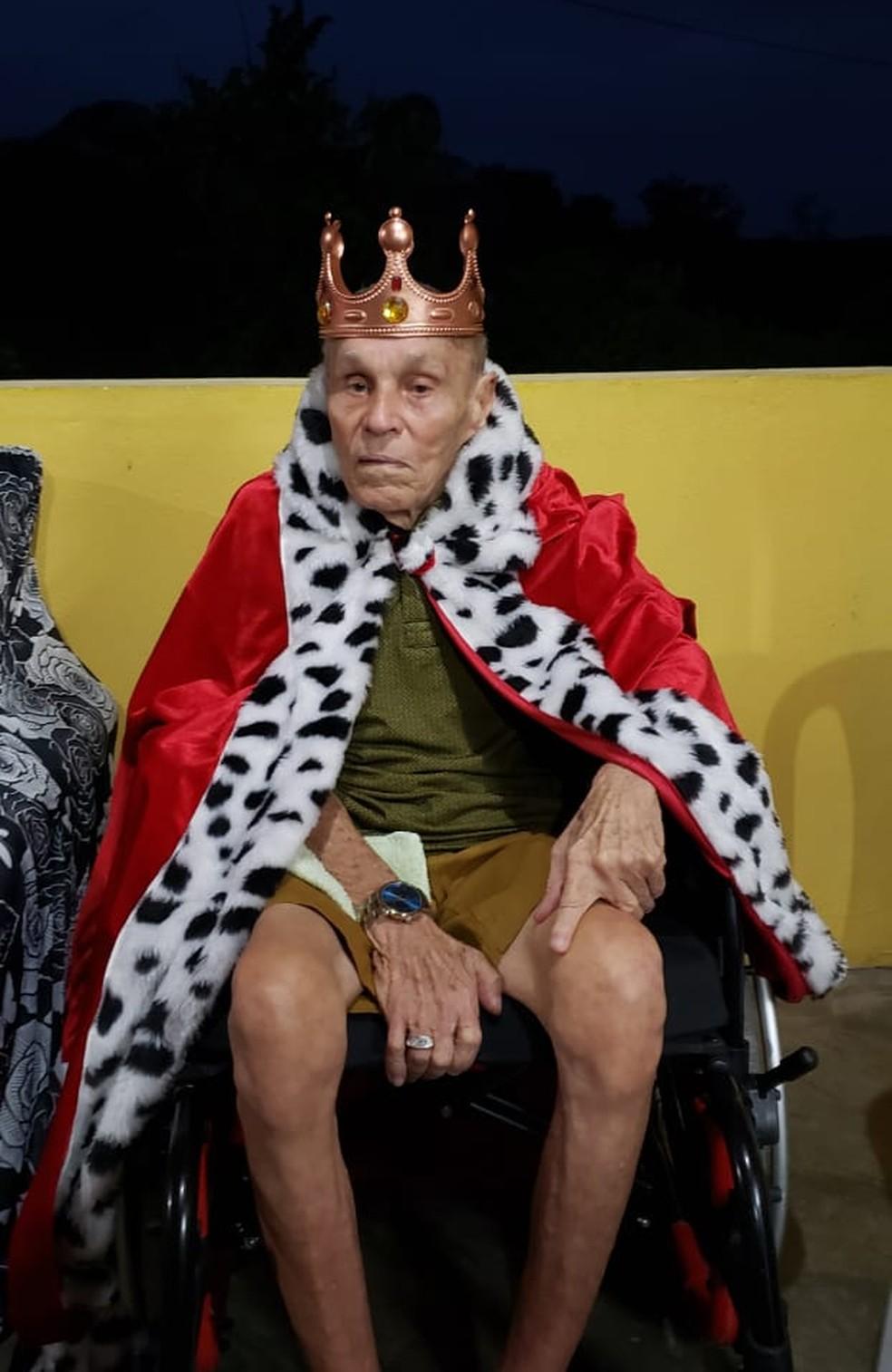 Zé dos Montes tinha 88 anos — Foto: Arquivo familiar/Cedida