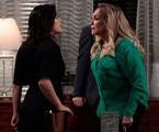 Vanessa Giácomo e Susana Vieira em cena de 'Amor à vida'   Divulgação/TV Globo