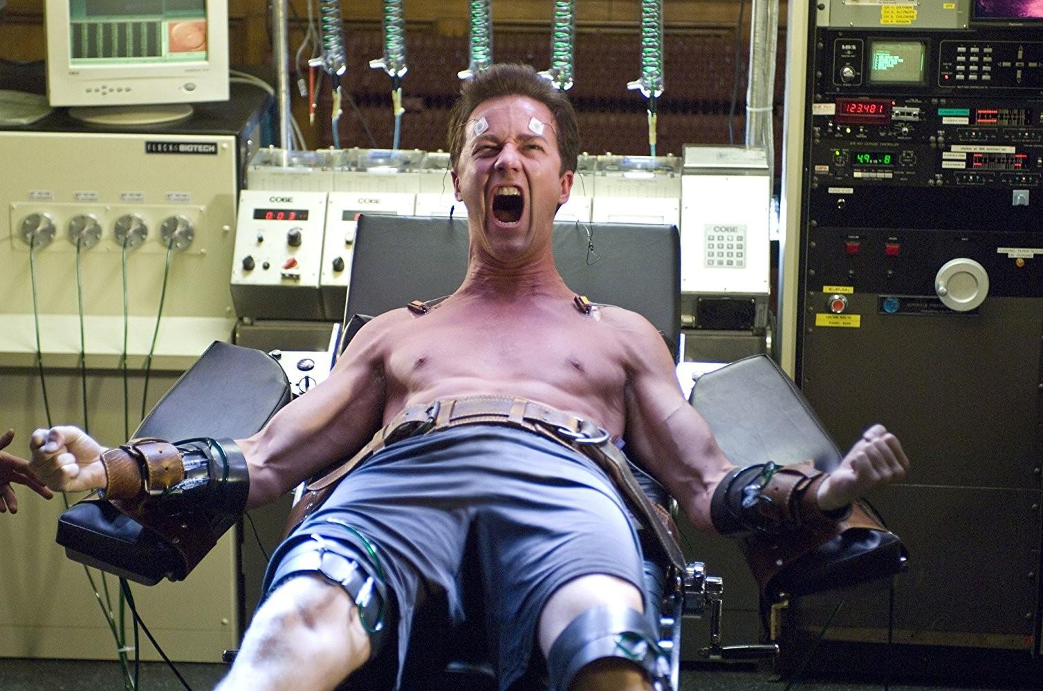 Edward Norton em O Incrível Hulk (2008) (Foto: Divulgação)