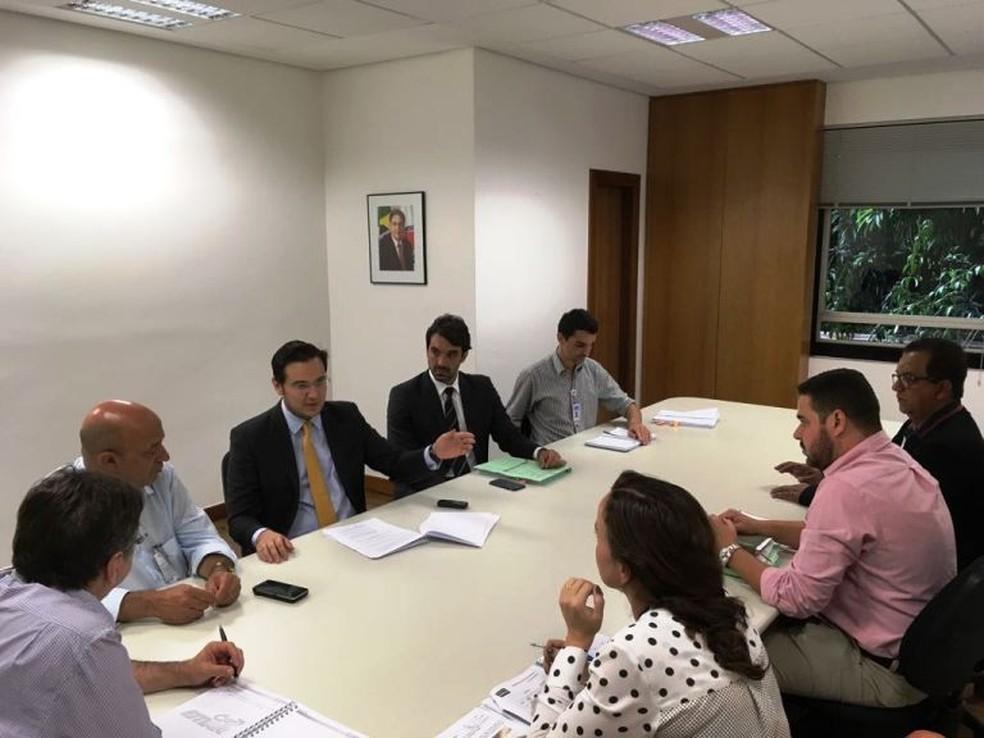 -  Ação contra a Copasa foi entregue pela Prefeitura de Paracatu na última semana  Foto: Prefeitura de Paracatu/Divulgação