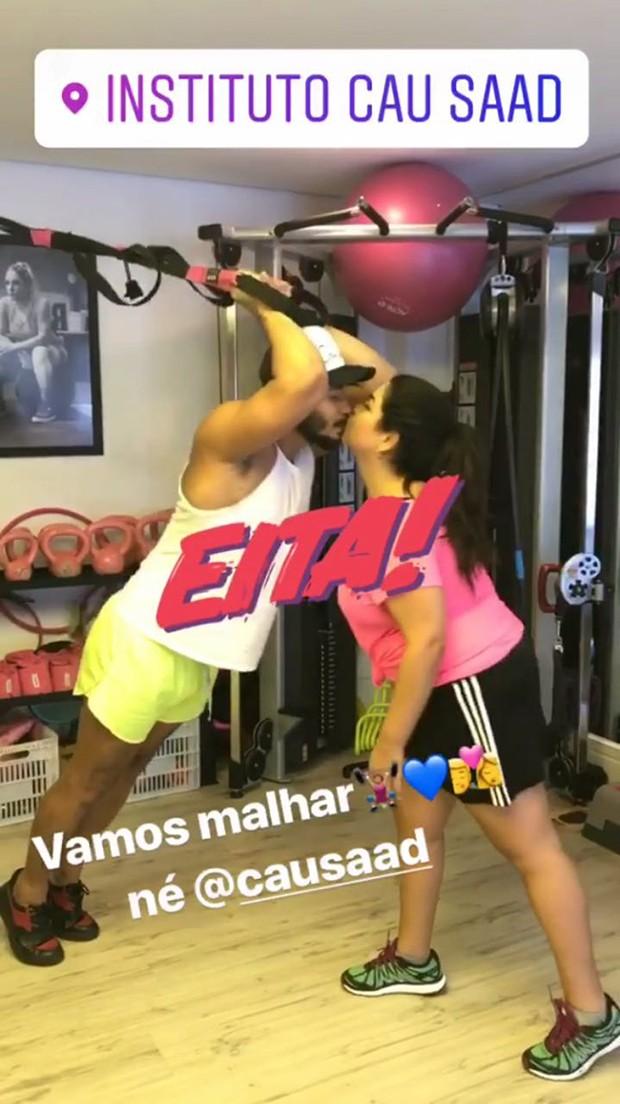 Fabiana Karla e Diogo Mello (Foto: Reprodução/ Instagram)