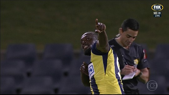 Bolt encerra período de testes no Central Coast Mariners, mas fica na mira da seleção da Jamaica
