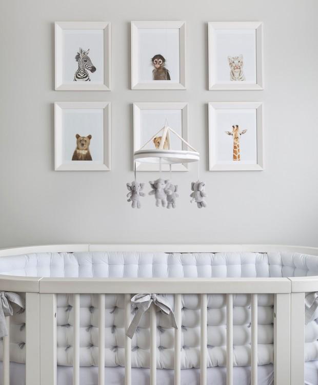 Decoração do quarto de bebê Karen Pisacane (Foto: Julia Ribeiro/Divulgação)