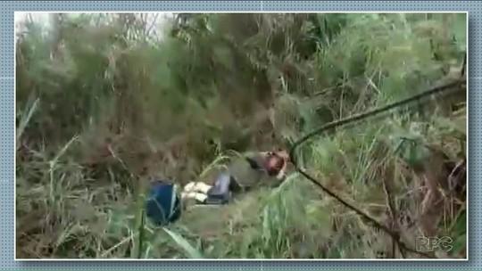 Idoso fica perdido por quase 18 horas em mata e é resgatado pelos bombeiros no Paraná